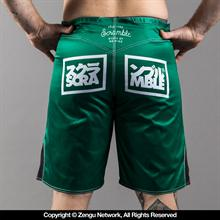 Scramble No Mind Jade Shorts